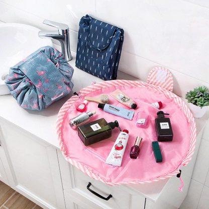 Quick Waterproof Makeup Bag - Open