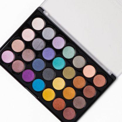 BH Cosmetics Foil Eyes 2 - 28 Color Eyeshadow Palette - Authentic Cosmetics - Original Cosmetics Nigeria - Lagos - Abuja - Lekki