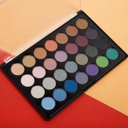 BH Cosmetics Foil Eyes 2 - 28 Color Eyeshadow Palette - Authentic Cosmetics - Original Cosmetics Nigeria - Lagos - Abuja - Port Harcourt-