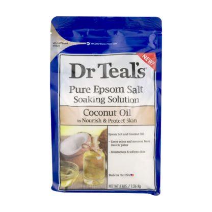 Dr Teal's Epsom Salt Soaking Solution - Nourish & Protect Skin With Coconut Oil - Authentic Cosmetics - Original Body Care - Original Cosmetics Nigeria - Lagos - Abuja - Port Harcourt - Nigeria 2