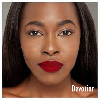 Milani Amore Matte Lip Creme - 14 Devotion - Lip Swatch A - Liquid Lipstick - Matte Lipstick - Original Cosmetics Nigeria - Original Milani Products - Lagos - Abuja - Port Harcourt