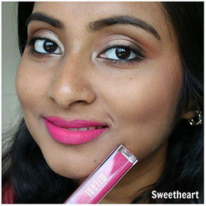 Milani Amore Matte Lip Creme - 16 Sweetheart - Lip Swatch - Liquid Lipstick - Matte Lipstick - Original Cosmetics Nigeria - Original Milani Products - Original Makeup - Lagos - Abuja - Port Harcourt
