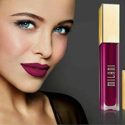 Milani Amore Matte Lip Creme - 18 Obsession - Lip Swatch - Liquid Lipstick - Matte Lipstick - Original Cosmetics Nigeria - Original Milani Products - Lagos - Abuja - Port Harcourt