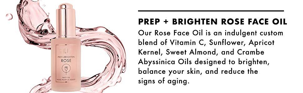 Milani Prep + Brighten Rose Face Oil - Original Cosmetics Nigeria