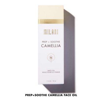 Milani Prep + Soothe Camellia Face Oil - Authentic Cosmetics - Original Makeup - Original Cosmetics Nigeria - Original Cosmetics In Lagos - Abuja - Port Harcourt