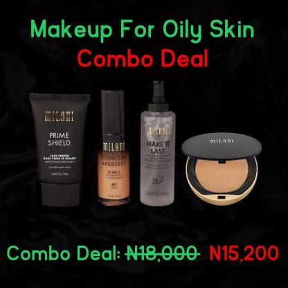 Makeup for Oily Skin Combo Deal - Original Cosmetics Nigeria - Lagos - Abuja - PortHarcourt