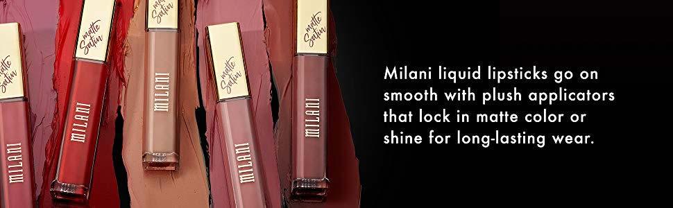 Milani Amore Satin Matte Lip Creme - Liquid Lipstick - Original Cosmetics Nigeria - Original Milani Cosmetics - Lagos - Abuja - PortHarcourt - Lekki - Kaduna - Kano