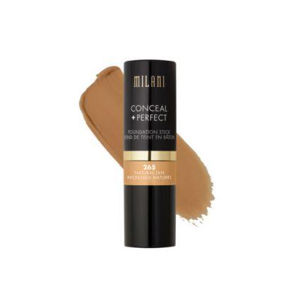Milani Conceal + Perfect Foundation Stick - 265 Natural Tan - Original Cosmetics Nigeria - Original Makeup Products - Original Milani - Lagos - Abuja - Portharcourt - Lekki - Surulere - Ikeja