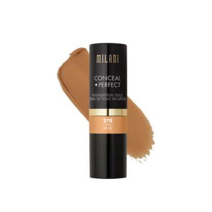 Milani Conceal + Perfect Foundation Stick - 270 Tan - Original Cosmetics Nigeria - Original Makeup Products - Original Milani - Lagos - Abuja - Portharcourt - Lekki - Surulere - Ikeja