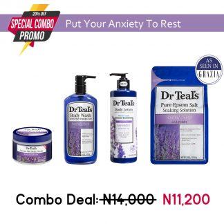 Dr Teals Epsom Salt Lavender Collection - Original Cosmetics Nigeria - Lagos - Abuja - PortHarcourt - Lekki - Surulere