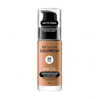 Revlon ColorStay Makeup Foundation for Combination and Oily Skin - 375 Toffee Caramel - Revlon ColorStay Foundation - Oil Free Foundation - Revlon Nigeria - Original Cosmetics Nigeria - Lagos - Abuja