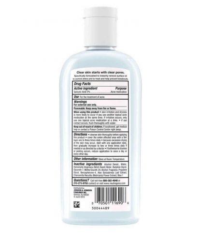 Neutrogena Clear Pore Oil-Eliminating Astringent with Salicylic Acid - Neutrogena Nigeria - Original Cosmetics Nigeria - Lagos - Abuja - PortHarcourt - Lekki - Kaduna - Kano - Oyo
