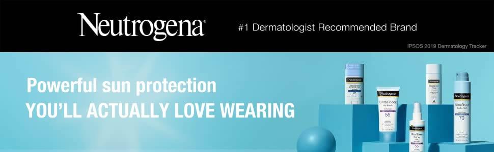 Neutrogena Ultra Sheer Dry-Touch Sunscreen Range with SPF 55 - Sun Protection - Neutrogena Nigeria - Original Neutrogena Prodcuts - Original Cosmetics Nigeria - Original Beauty Products