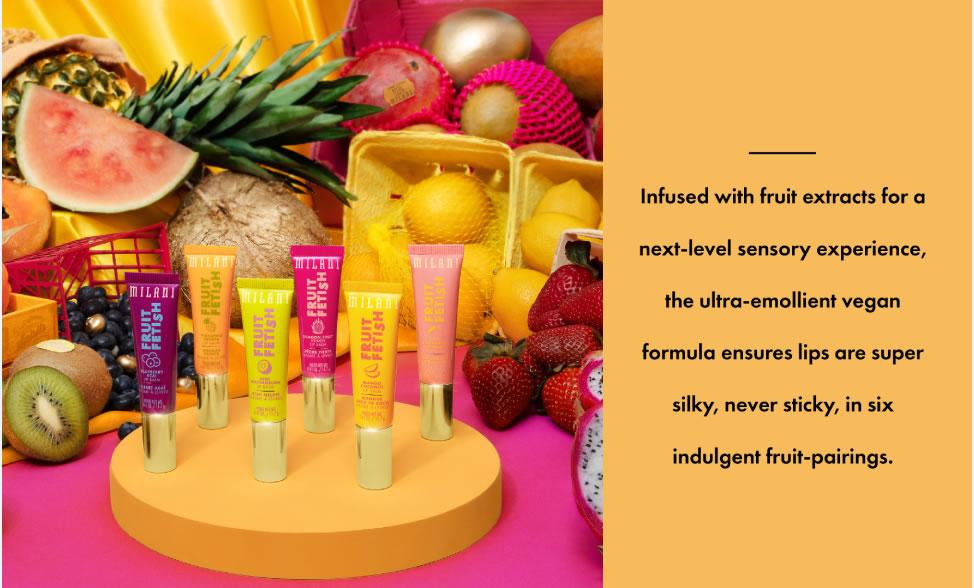 Milani Fruit Fetish Lip Balm - Lip Moisturizer - Original Cosmetics Nigeria - Original Makeup Products - Milani Cosmetics Nigeria - Lagos - Abuja - Portharcourt - Lekki